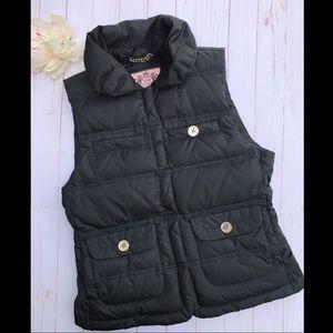 Juicy Couture Black Puffer Vest
